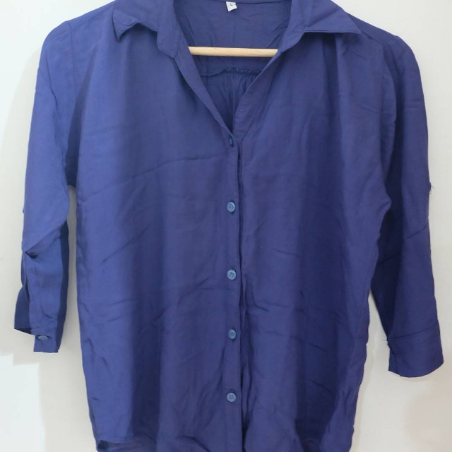 Unbranded Blue Polo