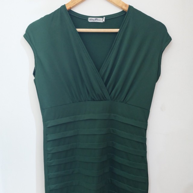 Unbranded Green Bodycon Dress