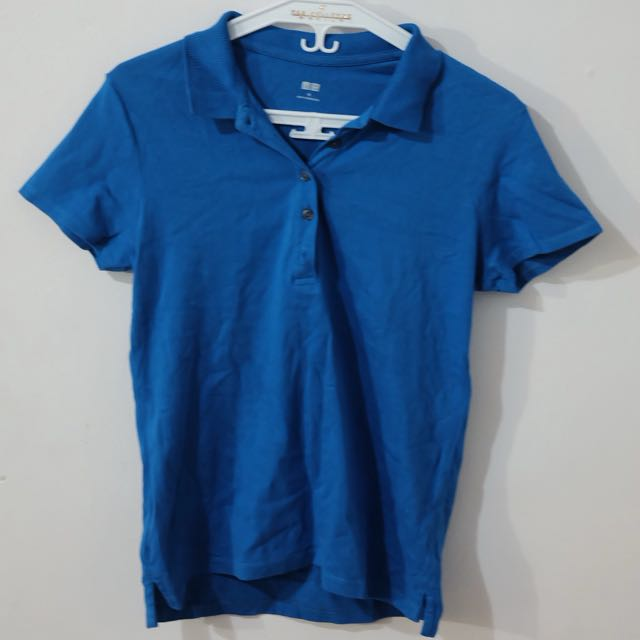 Uniqlo Blue Polo Shirt