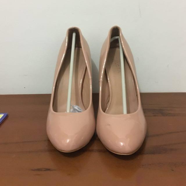 Zalora High Heels Peach Pink