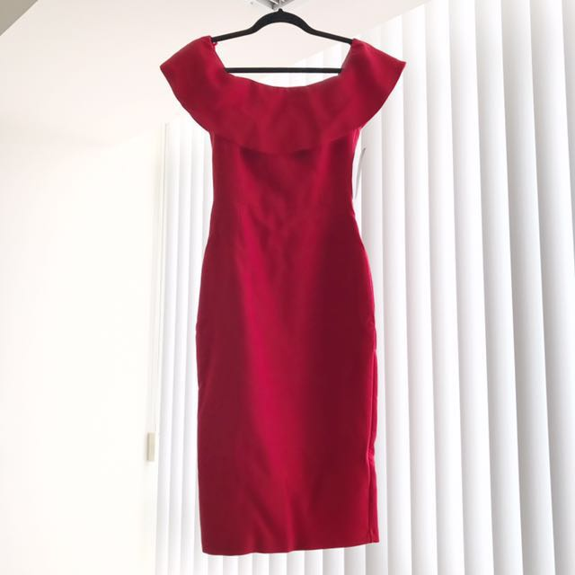 Zara Red Dress Size XS