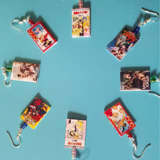 Mini Manga Earrings