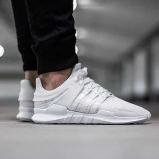 Adidas Originals Eqt Adv Support White Shoes