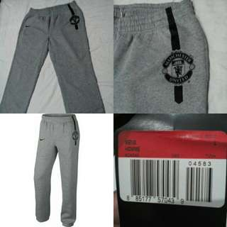 NIKE MANCHESTER UNITED SWEAT PANTS/BNEW & ORIG/MEN'S SIZE L/WITH TAG