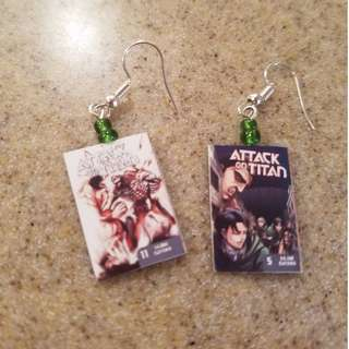 Attack On Titans Earrings