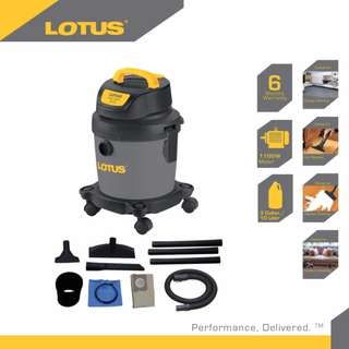 Lotus LT1828P 3Gal 10L Wet Dry Vacuum Cleaner Free Delivery in all NCR Area Cash On Delivery Nationwide