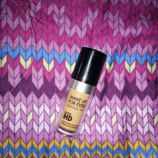 Make Up For Ever (MUFE) Ultra HD Foundation in the shade Y365