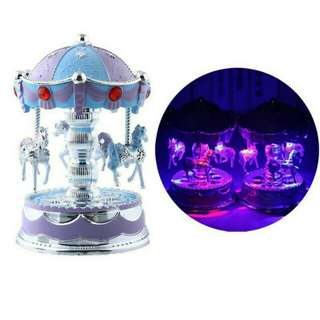 Carousel Music Led Light
