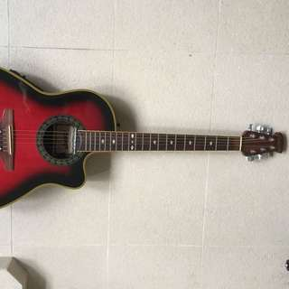 Cadenza Semi Acoustic Guitar ( price lowered!)
