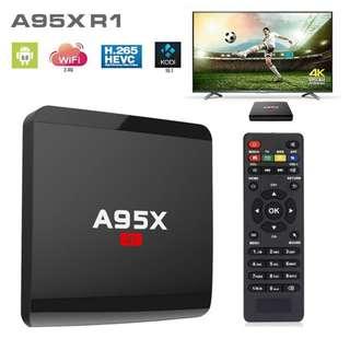A95X R1 Amlogic S905W 1GB+8GB 4K Android 7.1 WiFi TV Box