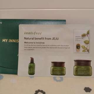 (全新) Innisfree samples 4件裝 (包郵)