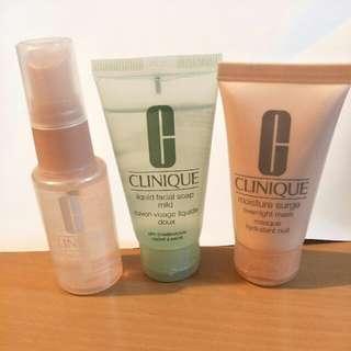 Clinique Skin set