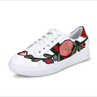 Gucci inspired embroidered shoes  #take10off