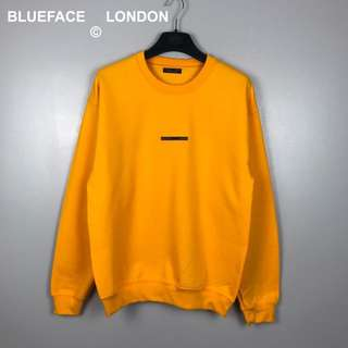 BlueFace London Yellow Sweatshirt