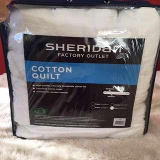 SHERIDAN queen cotton quilt
