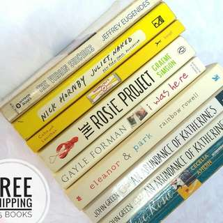 (Free shipping for 3-5 books)