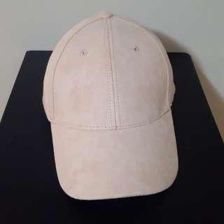 Blush Suede Baseball Cap (ALDO)