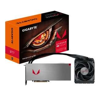 Gigabyte Radeon™ RX VEGA 64 Watercooling 8G (GV-RXVEGA64X W-8GD-B)