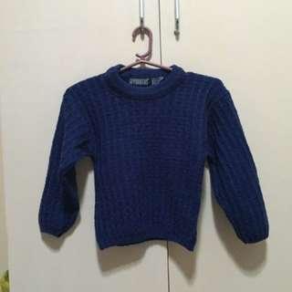 Unisex Blue Sweater