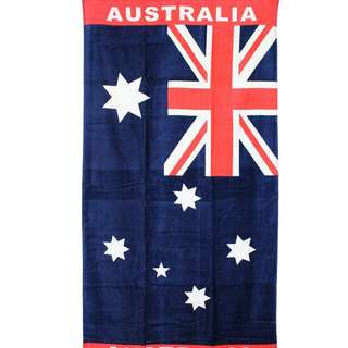 Original Australian Flag Towel Limited Edition