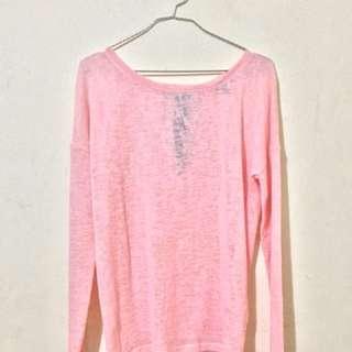 Pink longsleeves