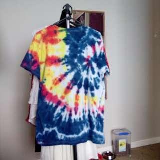 size 12-14 tie dye tshirt