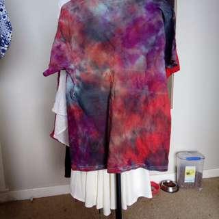 size 12-14 tie dye shirt