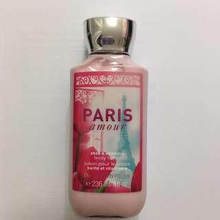 Bath & Body Works Paris Amour Shea & Vitamin E Body Lotion