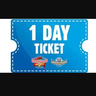 2 Adult Tickets To Dreamworld