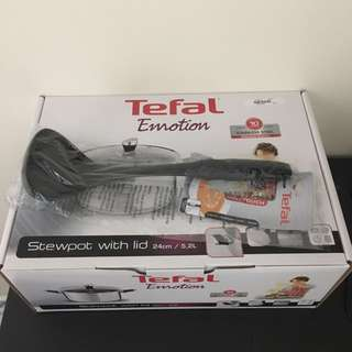 Tefal Emotion stewpot with lid