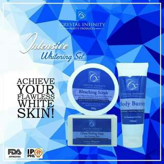 Crystal Infinity Intensive Whitening Set