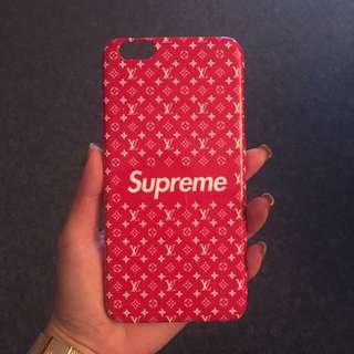 Supreme x LV case iPhone 7 case