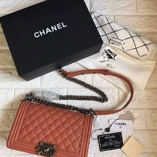 PREMIUM Authentic Overrun Chanel Le Boy Bags