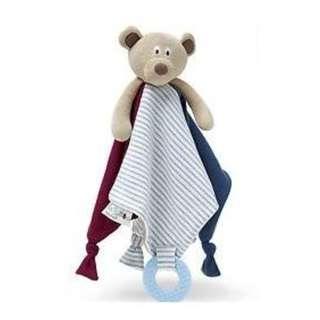 Baby comforter and teething blanket - Mr Ted