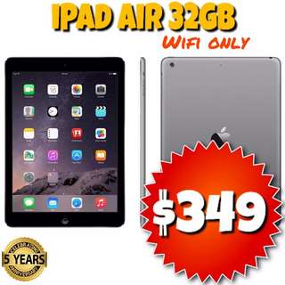 Refurb iPad Air 32GB Wifi ONLY UNLOCKED Space Grey @Phonebot