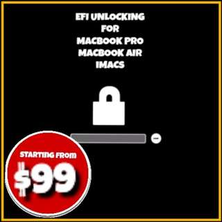 MACBOOK & iMAC EFI Lock Removal Service @Phonebot