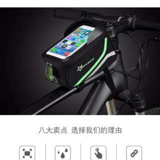 Handphone / accessories pouch for bicycle