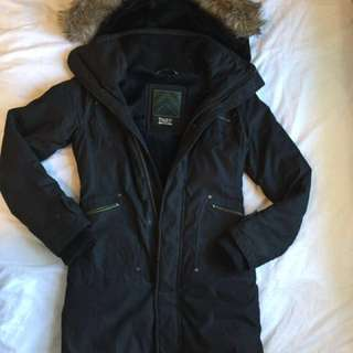TNA / Aritzia Verbier Long Winter Jacket (Size XS)