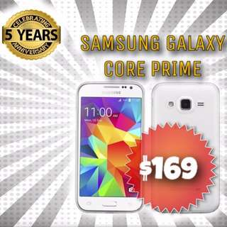 BRAND NEW Samsung Galaxy Core Prime brought to you by Phonebot