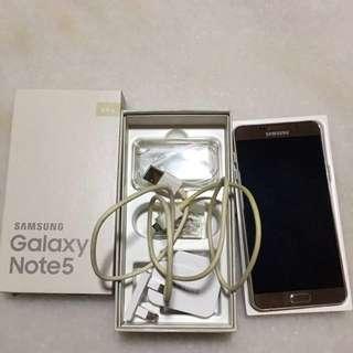 Samsung note 5 64gb