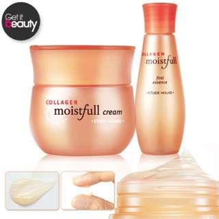 全新現貨  Moistfull Collagen水 Cream 60ml  Moistfull First Essence 20ml