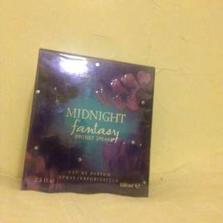Brittany Spears Midnight Fantasy Perfume *new*