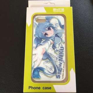 Snow Miku Vocaloid iPhone 5 Case