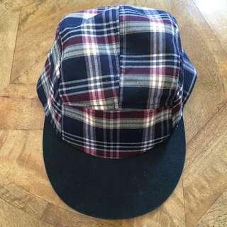 Checkered SnapBack Cap