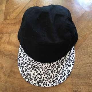 Black Leppard Printed SnapBack
