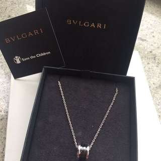 Bvlgari save the children 慈善頸鏈