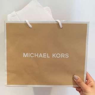 MICHAEL KORS PAPER BAG (2 STYLES)