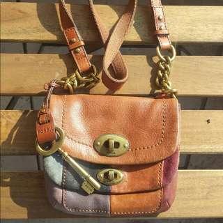 fossil mini satchel bag