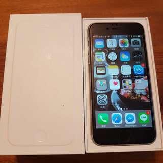 我最便宜 iPhone 6 16g 灰色 外觀漂亮 功能正常 盒裝