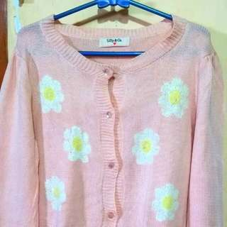 Switer rajut daissy crop